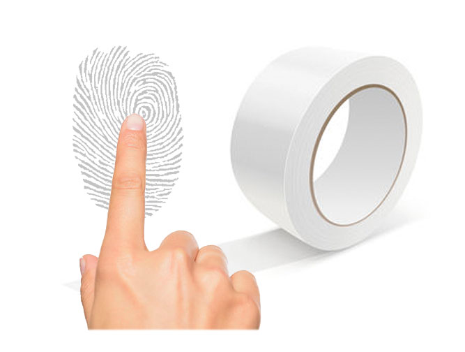 Jak odbić odcisk palca